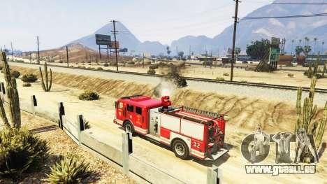 GTA 5 Die mission des Feuers v2.0 dritten Screenshot