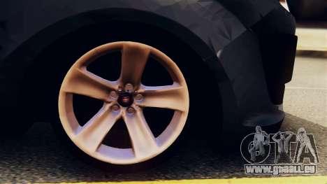 Fiat Doblo für GTA San Andreas Rückansicht