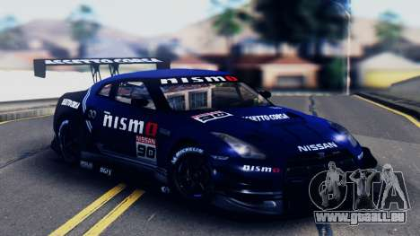 Nissan GT-R (R35) GT3 2012 PJ5 für GTA San Andreas Unteransicht