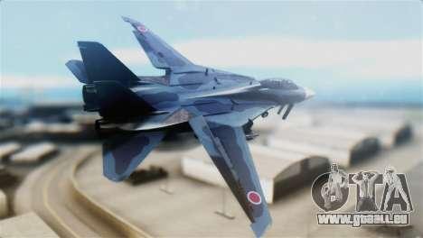 F-14J Super Tomcat JASDF pour GTA San Andreas laissé vue