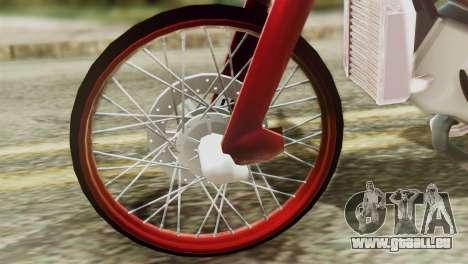 Dream 110 cc of Thailand für GTA San Andreas rechten Ansicht