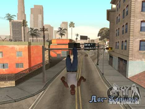 Back Flip für GTA San Andreas