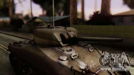 M4 Sherman v1.1 für GTA San Andreas Rückansicht