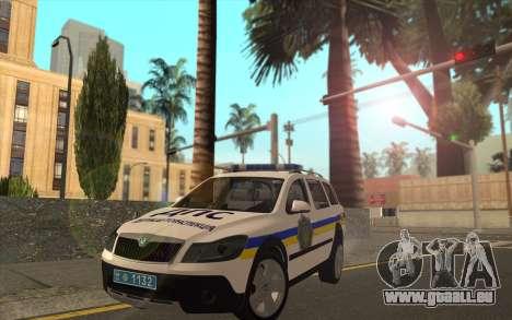 Skoda Octavia Scout DPS Ukraine pour GTA San Andreas