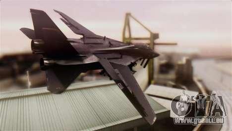 Grumman F-14D Super Tomcat pour GTA San Andreas laissé vue