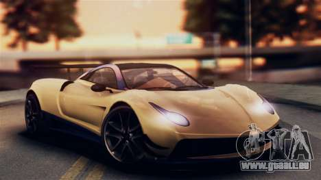 Pegassi Osiris from GTA 5 IVF pour GTA San Andreas