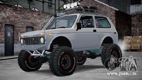 VAZ Niva 21213 v2 für GTA 4 Innenansicht