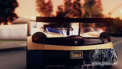 Pegassi Osiris from GTA 5 IVF pour GTA San Andreas vue intérieure