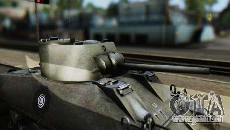 M4 Sherman Gawai Special 2 pour GTA San Andreas vue de droite