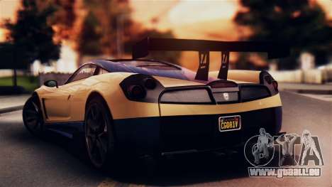 Pegassi Osiris from GTA 5 IVF pour GTA San Andreas laissé vue