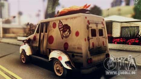 Sweet Tooth Car pour GTA San Andreas laissé vue