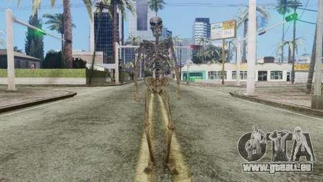 Skeleton Skin v2 pour GTA San Andreas deuxième écran