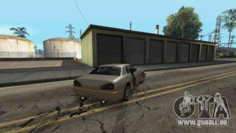 Amélioration de la physique de la conduite pour GTA San Andreas sixième écran