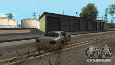 Verbesserte Physik zu fahren für GTA San Andreas sechsten Screenshot