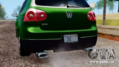 Volkswagen Golf Mk5 GTi Tunable PJ pour GTA San Andreas moteur