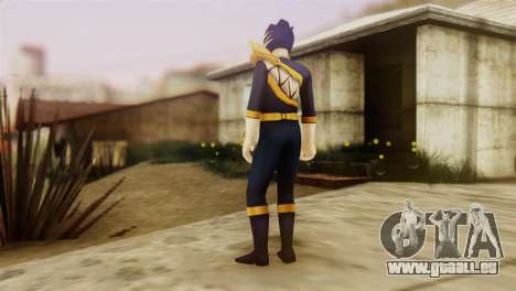Power Rangers Skin 4 für GTA San Andreas zweiten Screenshot
