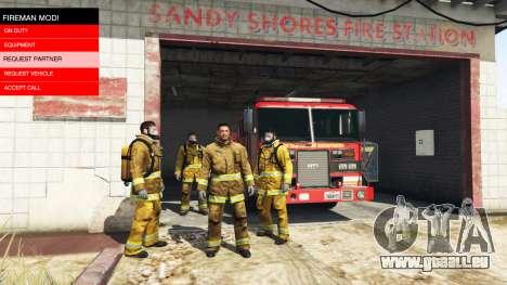 GTA 5 Die mission des Feuers v2.0 zweite Screenshot