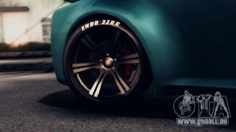GTA 5 Enus Windsor für GTA San Andreas Rückansicht