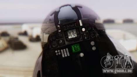 F-14A Tomcat VF-33 Starfighters für GTA San Andreas Rückansicht