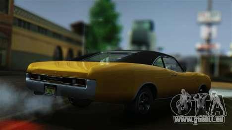 GTA 5 Imponte Dukes pour GTA San Andreas sur la vue arrière gauche