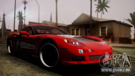 Chevrolet Corvette Z51 Another Itasha pour GTA San Andreas