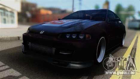 Honda Civic EG6 Kotomi Clannad Itasha pour GTA San Andreas