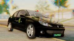 Peugeot 206 Coupe Police
