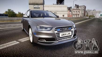 Audi S4 Avant Unmarked Police [ELS] für GTA 4