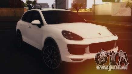 Porsche Cayenne Turbo S GTS 2015 für GTA San Andreas