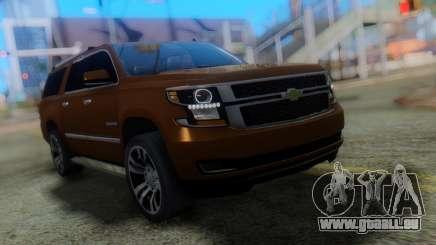 Chevrolet Suburban 2015 pour GTA San Andreas