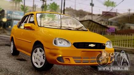 Chevrolet Corsa Classic 2009 v2 pour GTA San Andreas