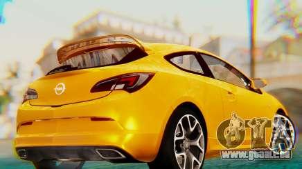 Opel Astra J OPC für GTA San Andreas
