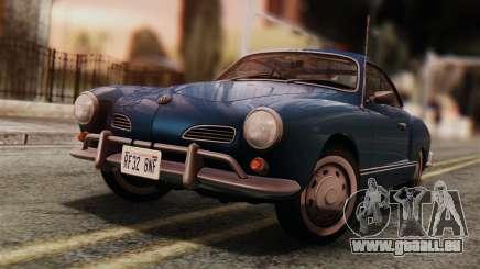 Volkswagen Karmann-Ghia Coupe (Typ 14) 1955 IVF pour GTA San Andreas