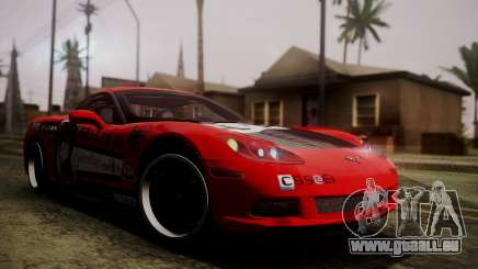 Chevrolet Corvette Z51 Another Itasha pour GTA San Andreas