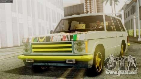 Huntley New Edition pour GTA San Andreas