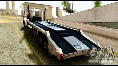 Packer Style DFT-30 pour GTA San Andreas laissé vue
