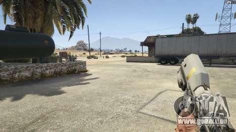 GTA 5 Halo UNSC: Magnum achten Screenshot