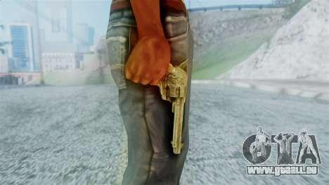 Red Dead Redemption Revolver Cattleman Diego v2 für GTA San Andreas dritten Screenshot