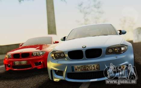 BMW 1M E82 pour GTA San Andreas