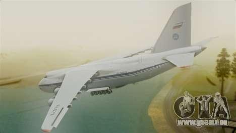 Antonov 124 pour GTA San Andreas laissé vue