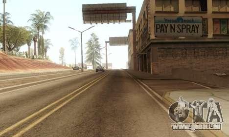ENB & Colormod v 1.0 pour GTA San Andreas troisième écran