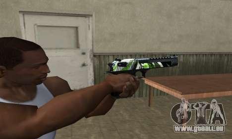 Ben Ten Deagle pour GTA San Andreas deuxième écran