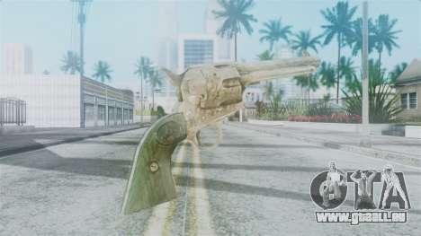 Red Dead Redemption Revolver Sergio pour GTA San Andreas deuxième écran