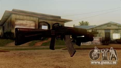 An-94 Abakan für GTA San Andreas dritten Screenshot