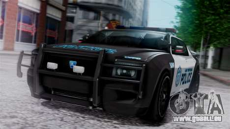 Hunter Citizen Police LV IVF für GTA San Andreas