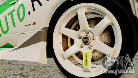 Nissan Silvia S15 24AUTORU für GTA San Andreas zurück linke Ansicht