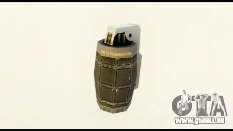 Grenade from Crysis 2 für GTA San Andreas zweiten Screenshot