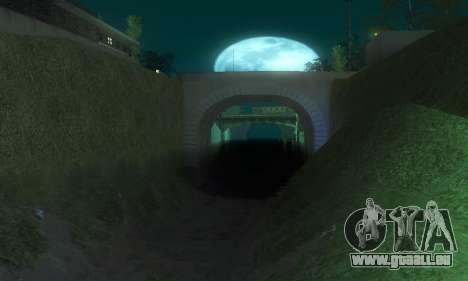 ENB & Colormod v 1.0 pour GTA San Andreas cinquième écran