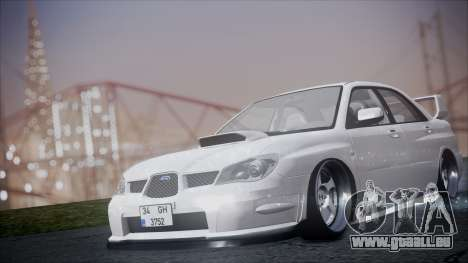 Subaru Impreza für GTA San Andreas