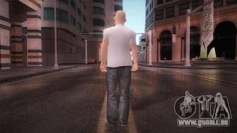 dnb1 Skin in Snowboard T-Shirt für GTA San Andreas dritten Screenshot